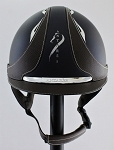 SOLD - Antares Galaxy Helmet #16 125 (satin blue, chrome logo, size small)