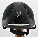 Antares Hunter Classic Helmet #18 623 (black, silver logo, size small)