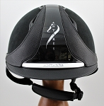 SOLD - Antares Hunter Classic Helmet #17 1753 (black, silver logo, size small)