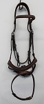Antarès Origin Flash Noseband bridle with pull back (size 3, calf, no reins)