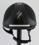 SOLD - Antares Hunter Classic Helmet #17 1752 (black, silver logo, size small)