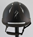 Antares Reference Helmet #18 606 (matte black/brown, silver logo, size small)