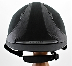 SOLD - Antarès Hunter Helmet #17 4006 (black, no logo, size small)