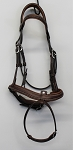 SOLD- Antarès Origin Flash Noseband bridle with pull back (size 1, calf, no reins)