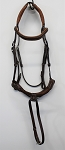 SOLD - Antarès Precision Bridle with Rope Noseband (size 1, calf, no reins)