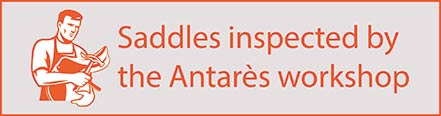 Saddles inspected by the Antares Workshop