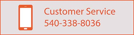 Call Customer Service at 540-338-8036